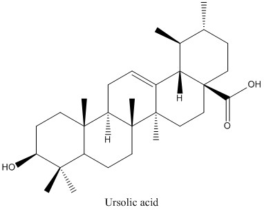 CAS 77-52-1 Ursolic acid