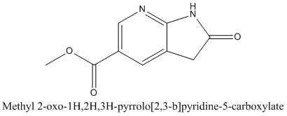 CAS 1190317-75-9 Methyl 2-oxo-1H,2H,3H-pyrrolo[2,3-b]pyridine-5-carboxylate