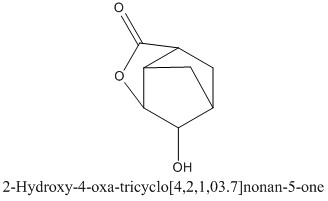 CAS 92343-46-9 2-Hydroxy-4-oxa-tricyclo[4,2,1,03.7]nonan-5-one