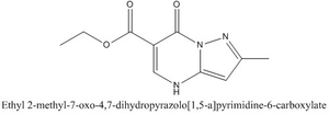CAS 99056-35-6 Ethyl 2-methyl-7-oxo-4,7-dihydropyrazolo[1,5-a]pyrimidine-6-carboxylate