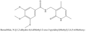 CAS 923740-92-5 BenzaMide, N-[(1,2-dihydro-4,6-diMethyl-2-oxo-3-pyridinyl)Methyl]-3,4,5-triMethoxy-