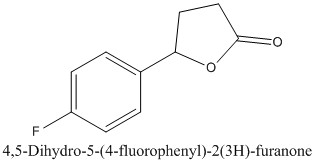 CAS 51787-96-3 4,5-Dihydro-5-(4-fluorophenyl)-2(3H)-furanone