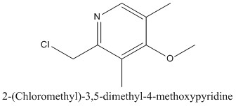 CAS 84006-10-0 2-(Chloromethyl)-3,5-dimethyl-4-methoxypyridine