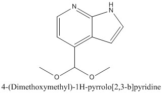CAS 1186311-04-5 4-(Dimethoxymethyl)-1H-pyrrolo[2,3-b]pyridine