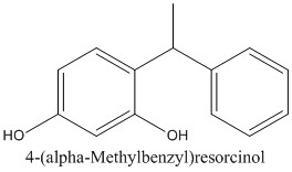 CAS 85-27-8 4-(alpha-Methylbenzyl)resorcinol