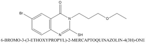 CAS 795290-91-4 6-BROMO-3-(3-ETHOXYPROPYL)-2-MERCAPTOQUINAZOLIN-4(3H)-ONE