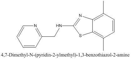 CAS 1105191-30-7 4,7-Dimethyl-N-(pyridin-2-ylmethyl)-1,3-benzothiazol-2-amine