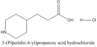 CAS 51052-79-0 3-(Piperidin-4-yl)propanoic acid hydrochloride