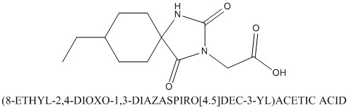 CAS 790725-81-4 (8-ETHYL-2,4-DIOXO-1,3-DIAZASPIRO[4.5]DEC-3-YL)ACETIC ACID