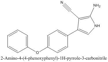 CAS 1199589-61-1 2-Amino-4-(4-phenoxyphenyl)-1H-pyrrole-3-carbonitrile