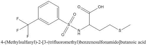 CAS 1009729-55-8 4-(Methylsulfanyl)-2-[3-(trifluoromethyl)benzenesulfonamido]butanoic acid