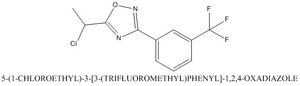 CAS 923753-68-8 5-(1-CHLOROETHYL)-3-[3-(TRIFLUOROMETHYL)PHENYL]-1,2,4-OXADIAZOLE