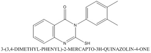 CAS 84772-25-8 3-(3 4-DIMETHYL-PHENYL)-2-MERCAPTO-3H-QUINAZOLIN-4-ONE