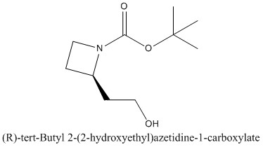 CAS 1056166-09-6 (R)-tert-Butyl 2-(2-hydroxyethyl)azetidine-1-carboxylate