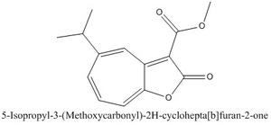 CAS 99909-62-3 5-Isopropyl-3-(Methoxycarbonyl)-2H-cyclohepta[b]furan-2-one