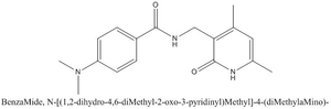 CAS 923246-06-4 BenzaMide, N-[(1,2-dihydro-4,6-diMethyl-2-oxo-3-pyridinyl)Methyl]-4-(diMethylaMino)-