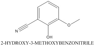 CAS 6812-16-4 2-HYDROXY-3-METHOXYBENZONITRILE