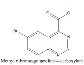 CAS 474710-78-6 Methyl 6-bromoquinazoline-4-carboxylate